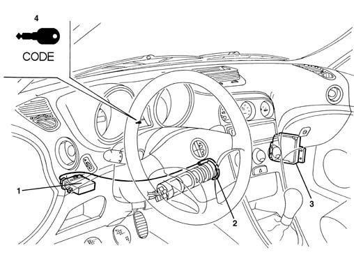 foto Descrizione impianto antifurto Alfa Romeo 156 - 17