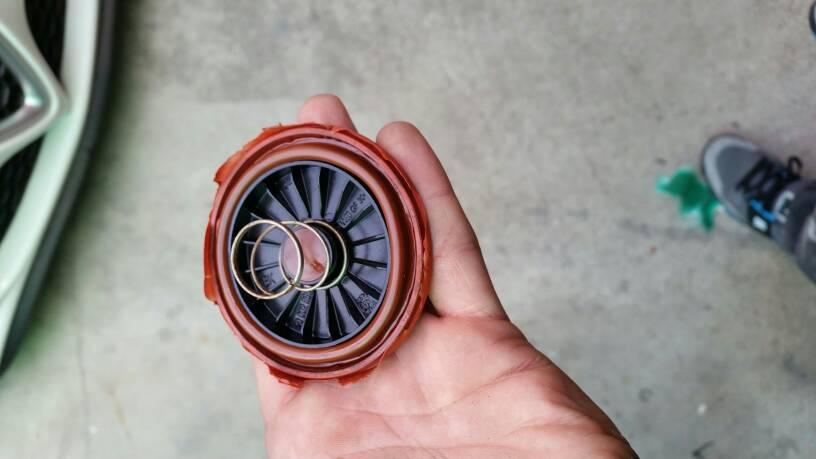 foto Giulietta qv - eliminare il ricircolo vapori olio - 12