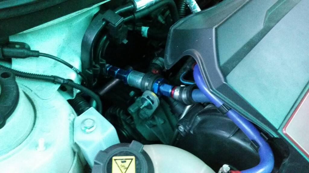 foto Giulietta qv - eliminare il ricircolo vapori olio - 2