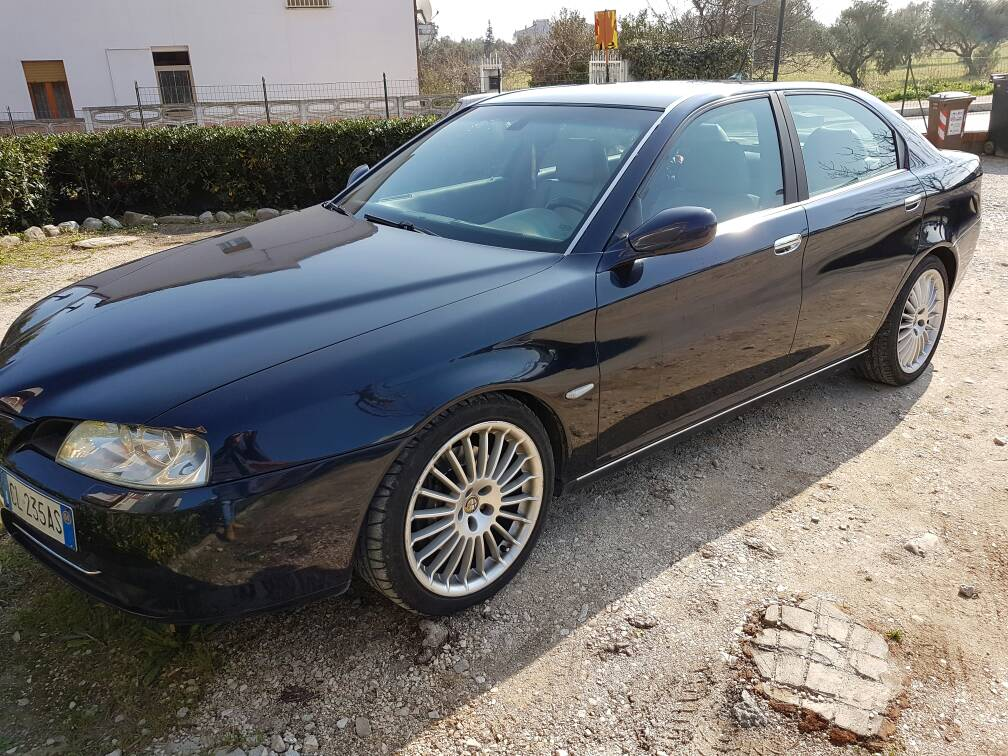 foto Alfa Romeo 166 2.4 Multijet 175 cv Blu Presidenziale 2004 (CB) - 1