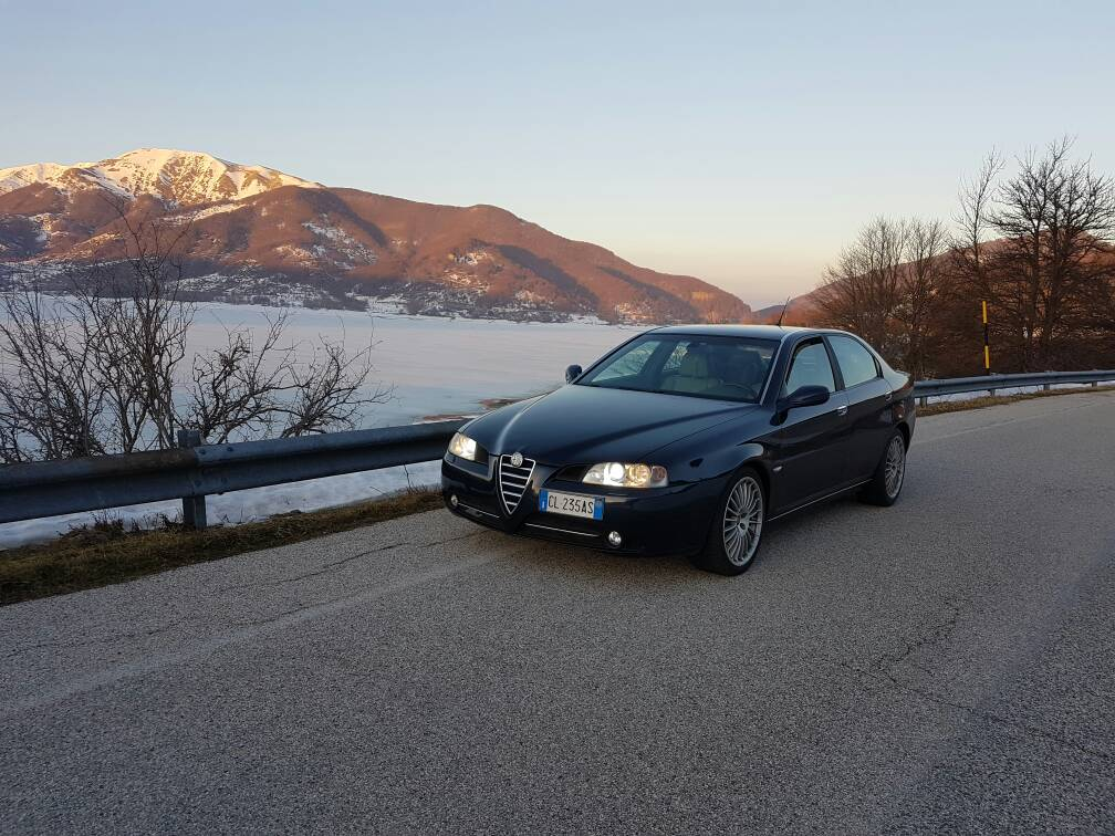 foto Alfa Romeo 166 2.4 Multijet 175 cv Blu Presidenziale 2004 (CB) - 4