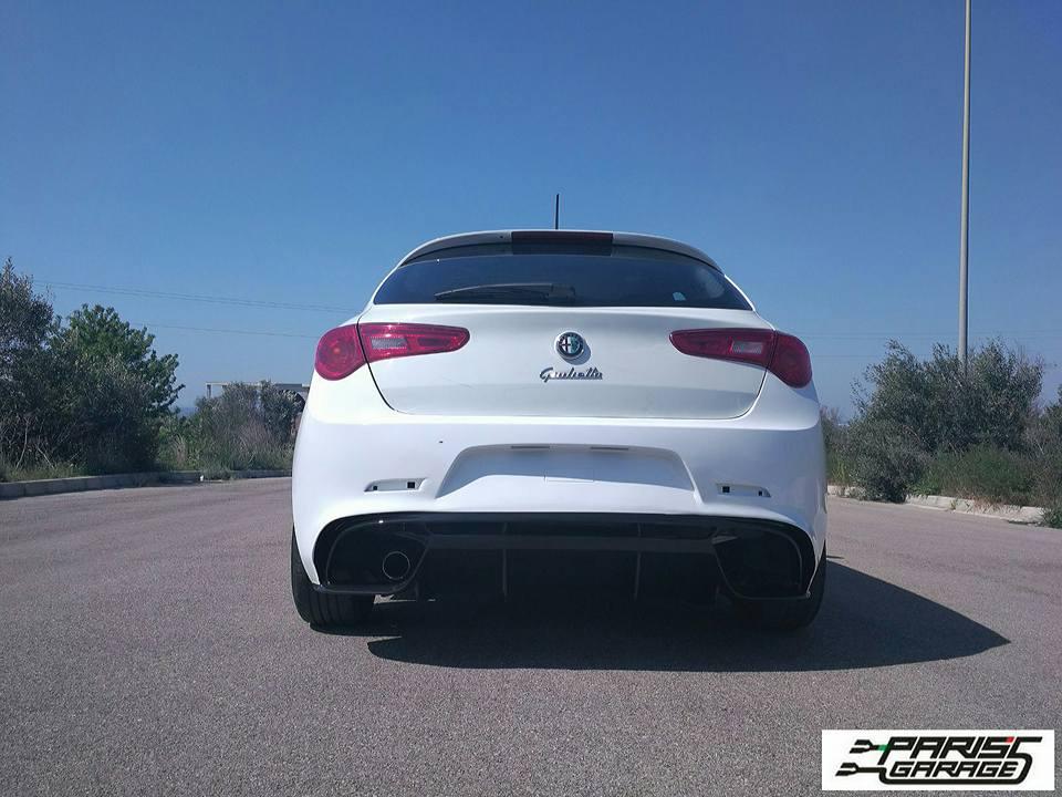 foto Giulietta - Montare estrattore posteriore aftermarket (no Linea Accessori) - 1
