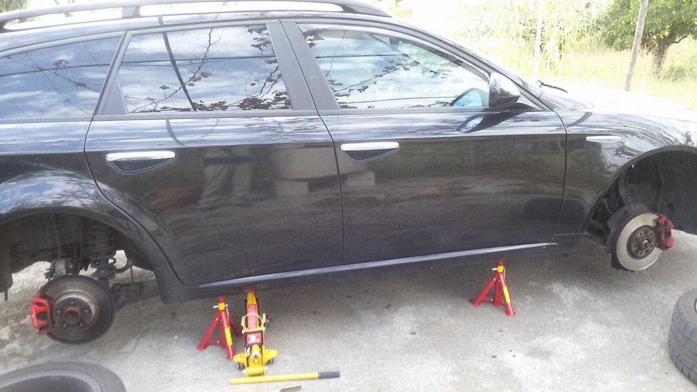foto Sollevare l'auto fai da te - 3