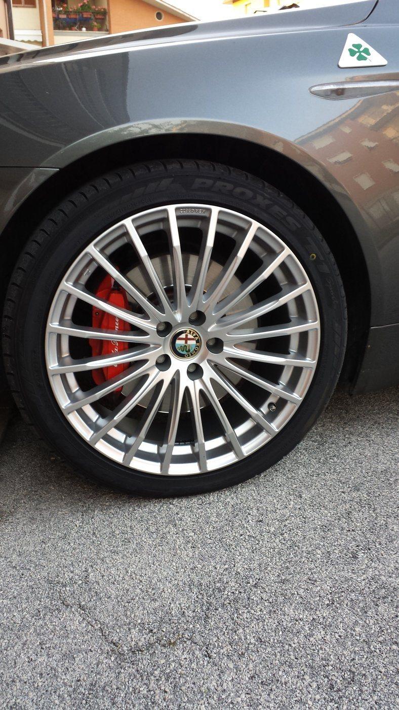 foto Alfa Romeo Brera - 2.4 mjet 20v 200cv - Grigio Touring - 2007 - 1