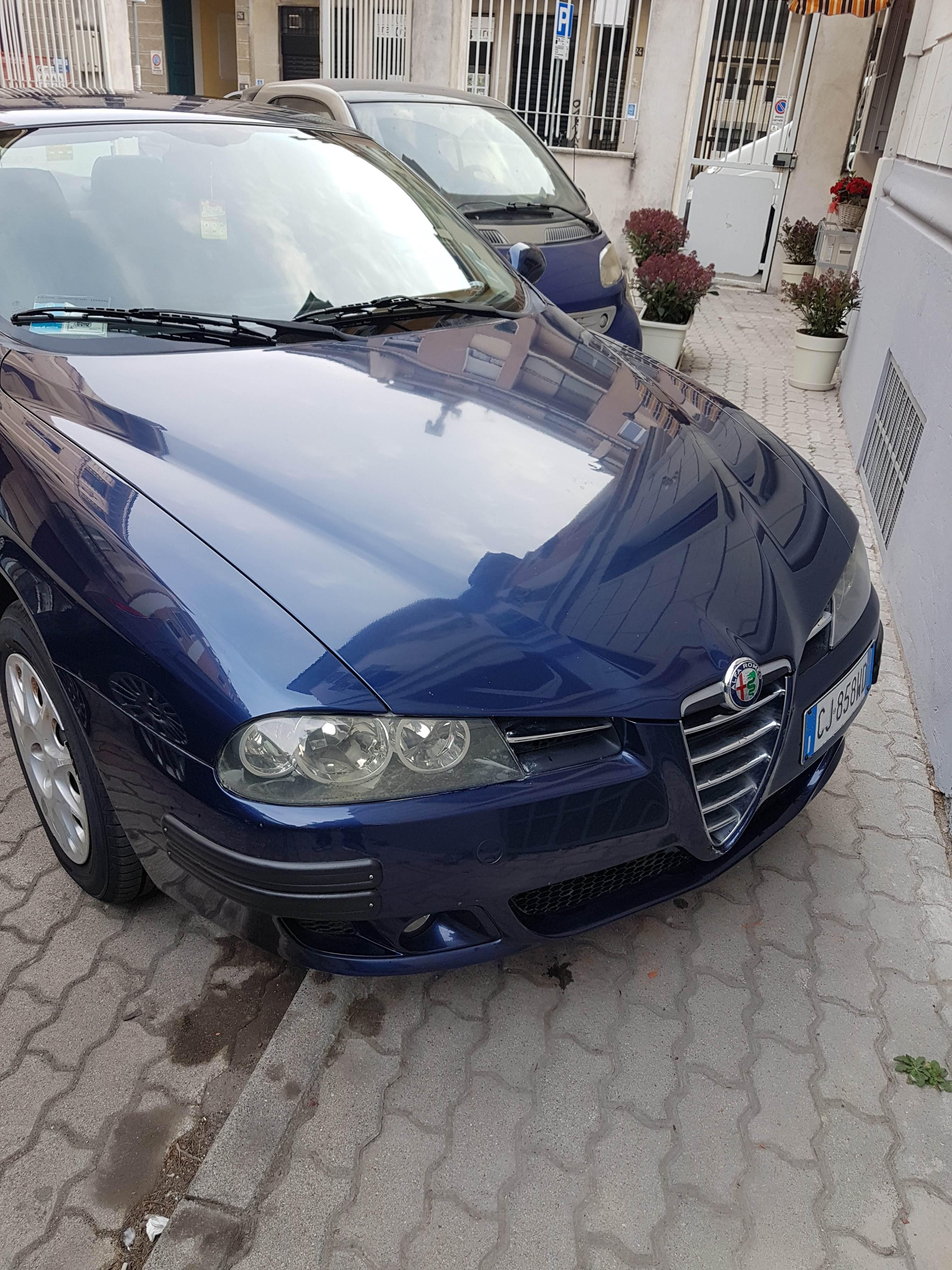 foto Alfa Romeo 156 - 1.6 TS 120cv - Blu Vela - 2003 - 3