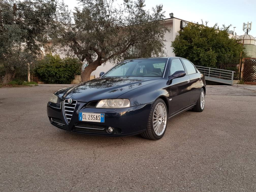 foto Alfa Romeo 166 2.4 Multijet 175 cv Blu Presidenziale 2004 (CB) - 5