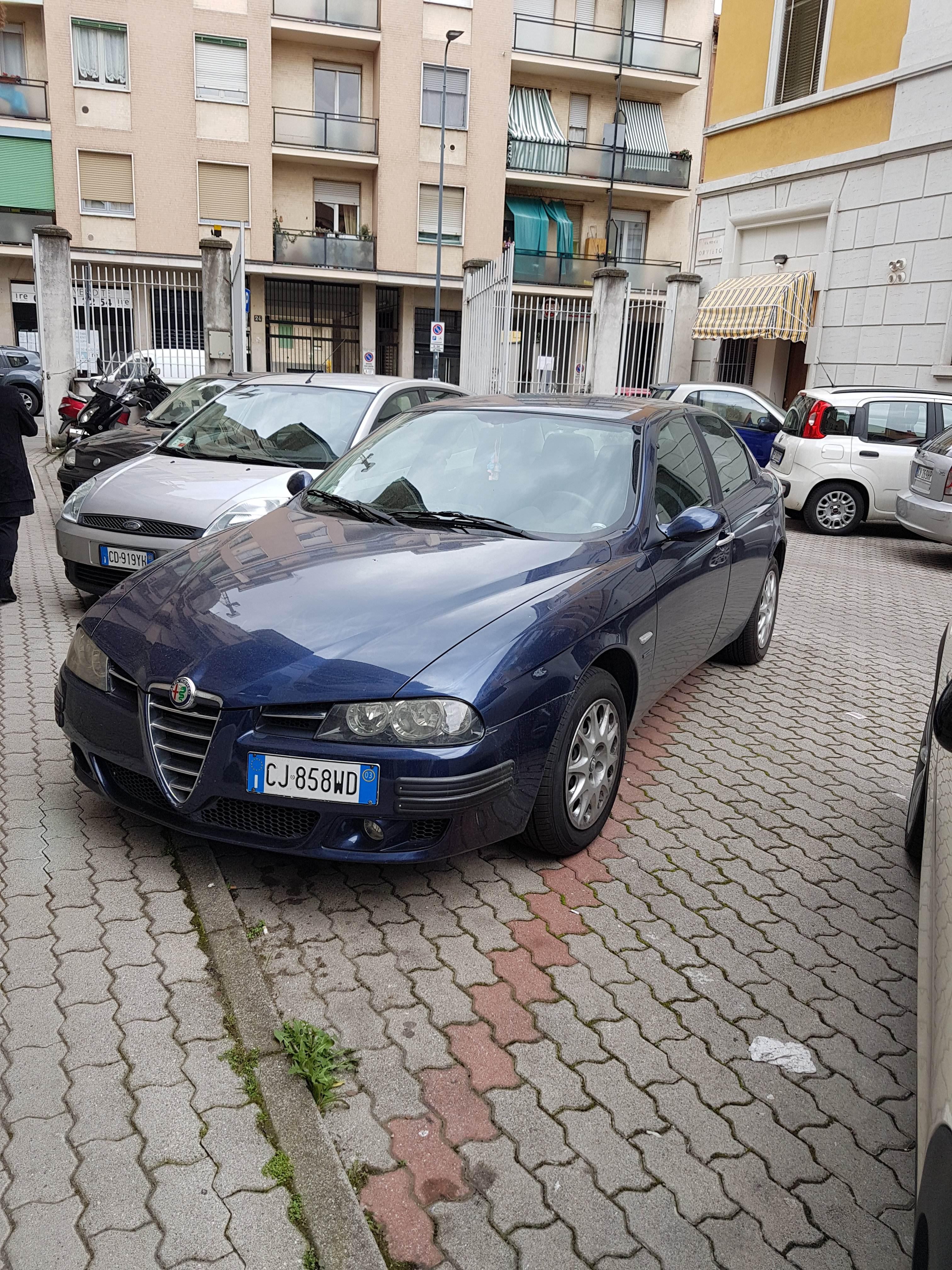 foto Alfa Romeo 156 - 1.6 TS 120cv - Blu Vela - 2003 - 5