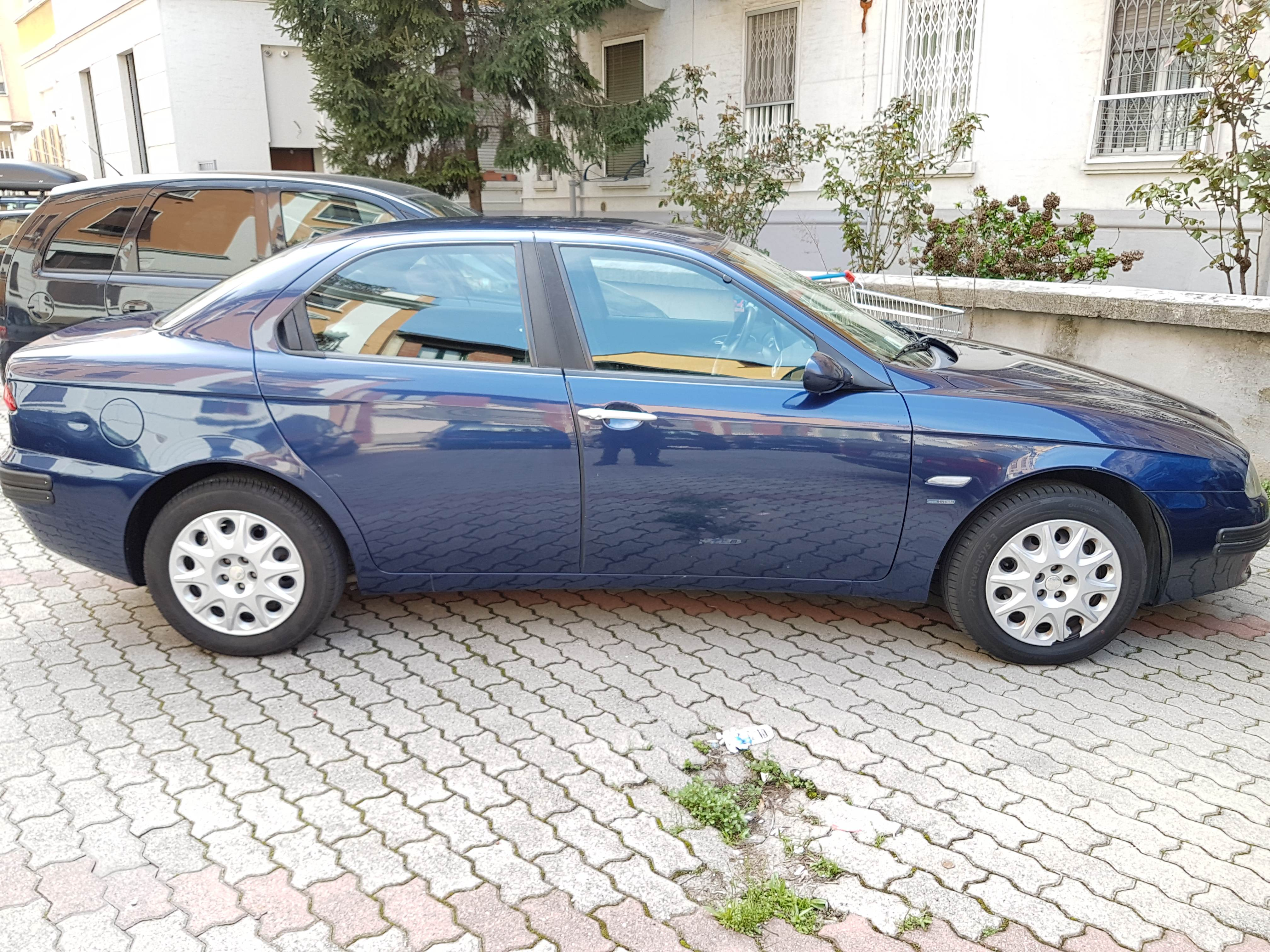 foto Alfa Romeo 156 - 1.6 TS 120cv - Blu Vela - 2003 - 6