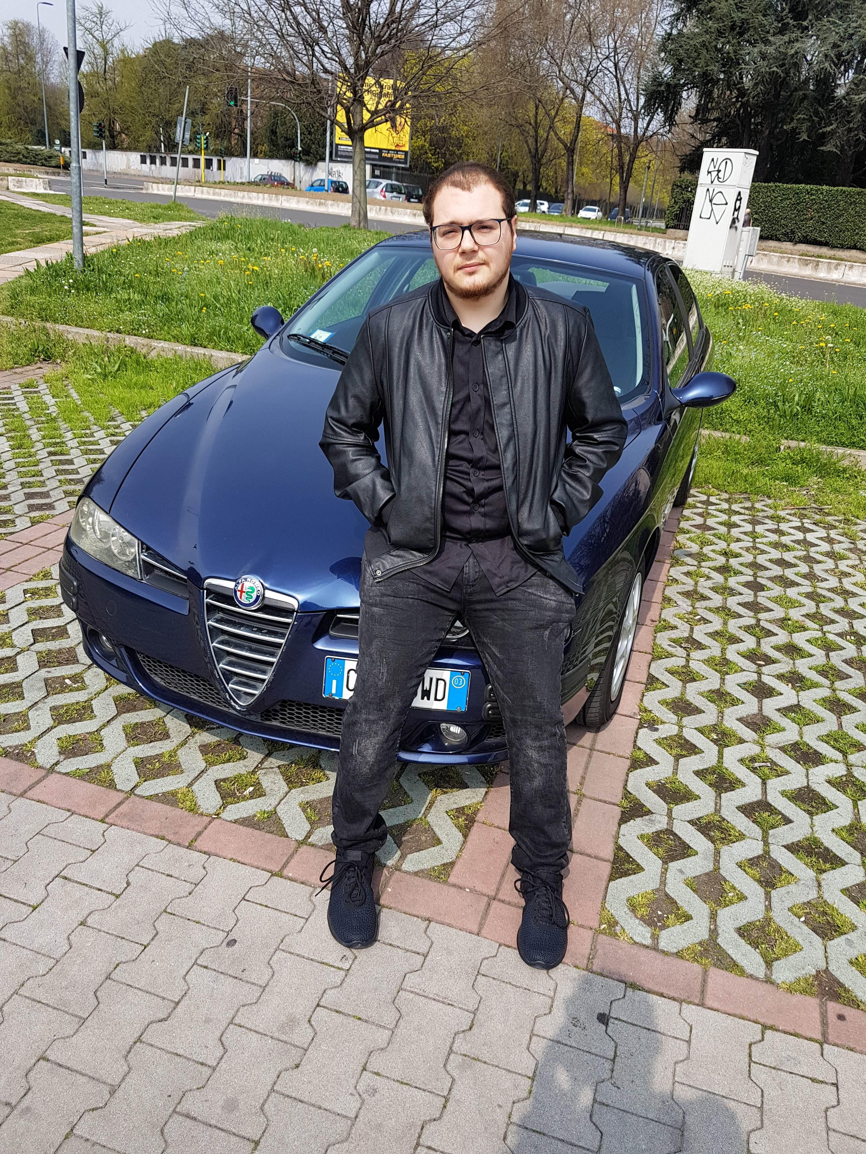 foto Alfa Romeo 156 - 1.6 TS 120cv - Blu Vela - 2003 - 8