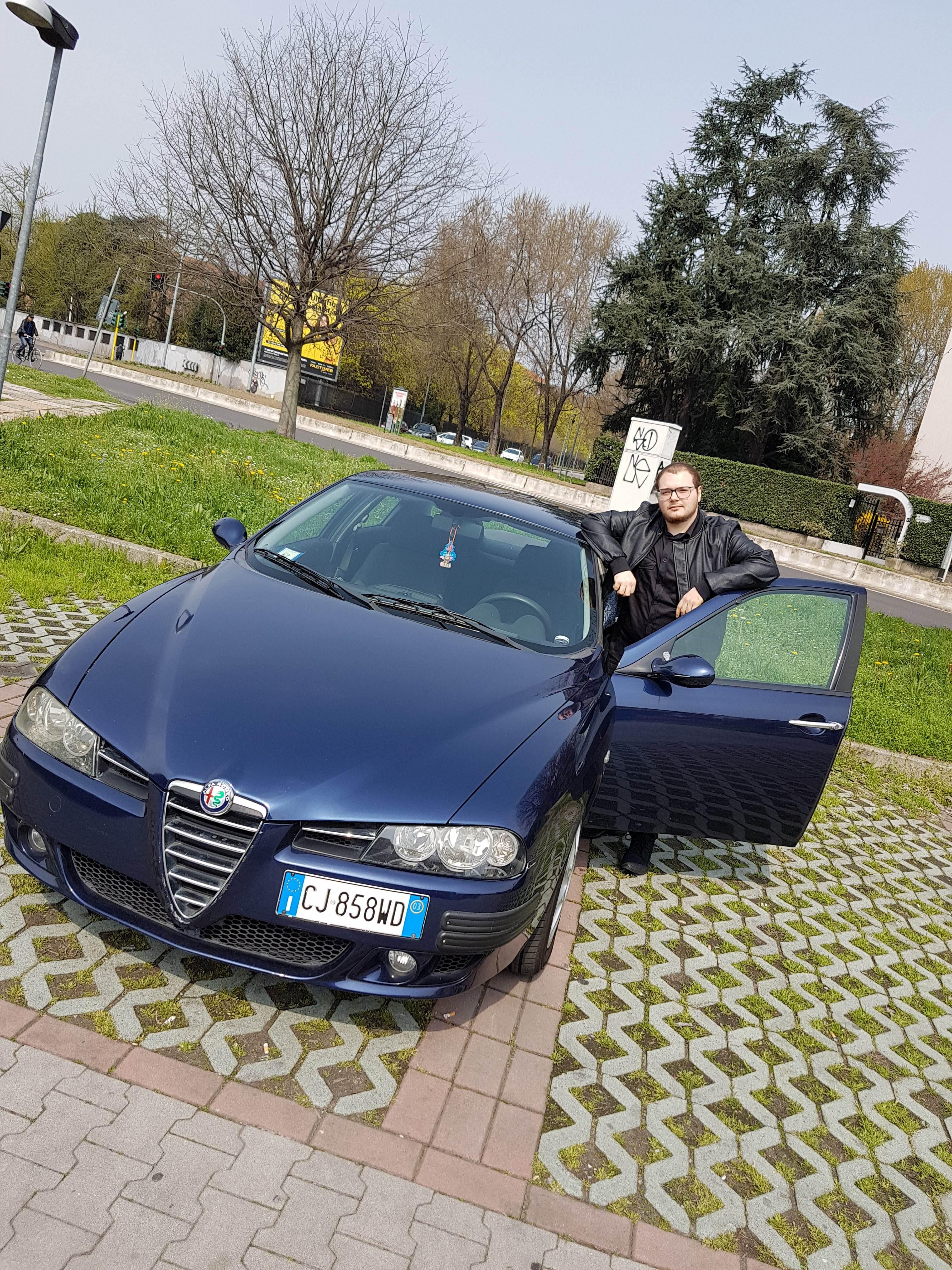 foto Alfa Romeo 156 - 1.6 TS 120cv - Blu Vela - 2003 - 9