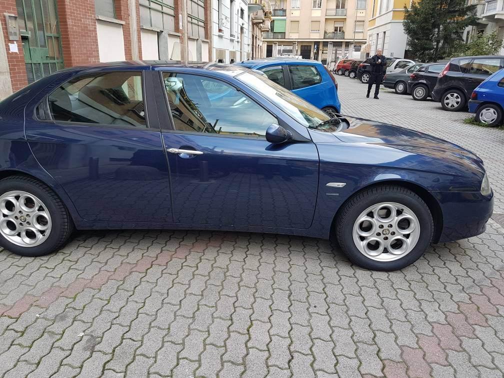 foto Alfa Romeo 156 - 1.6 TS 120cv - Blu Vela - 2003 - 4