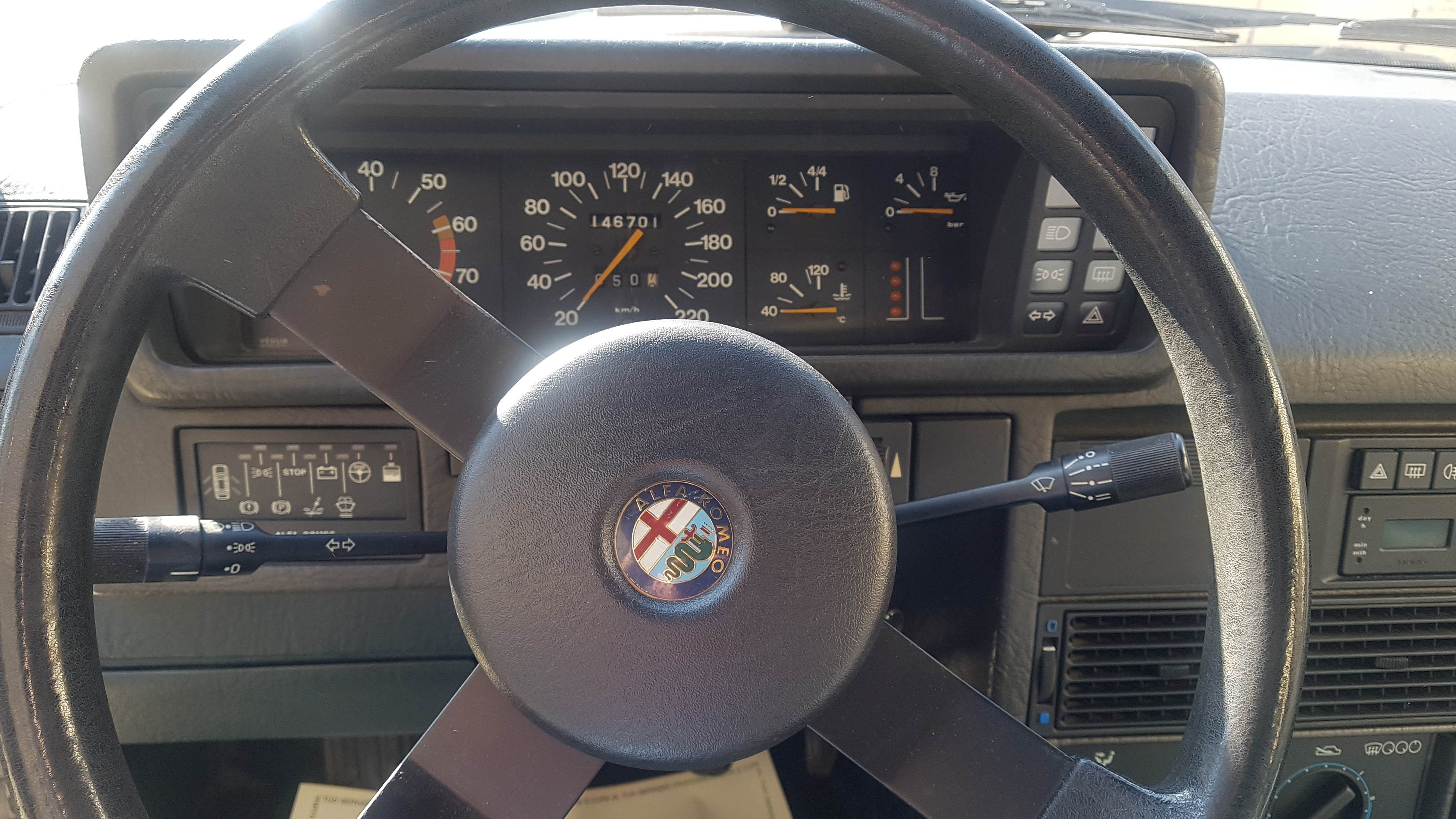 foto Alfa 90 1.8 carburatori - 3