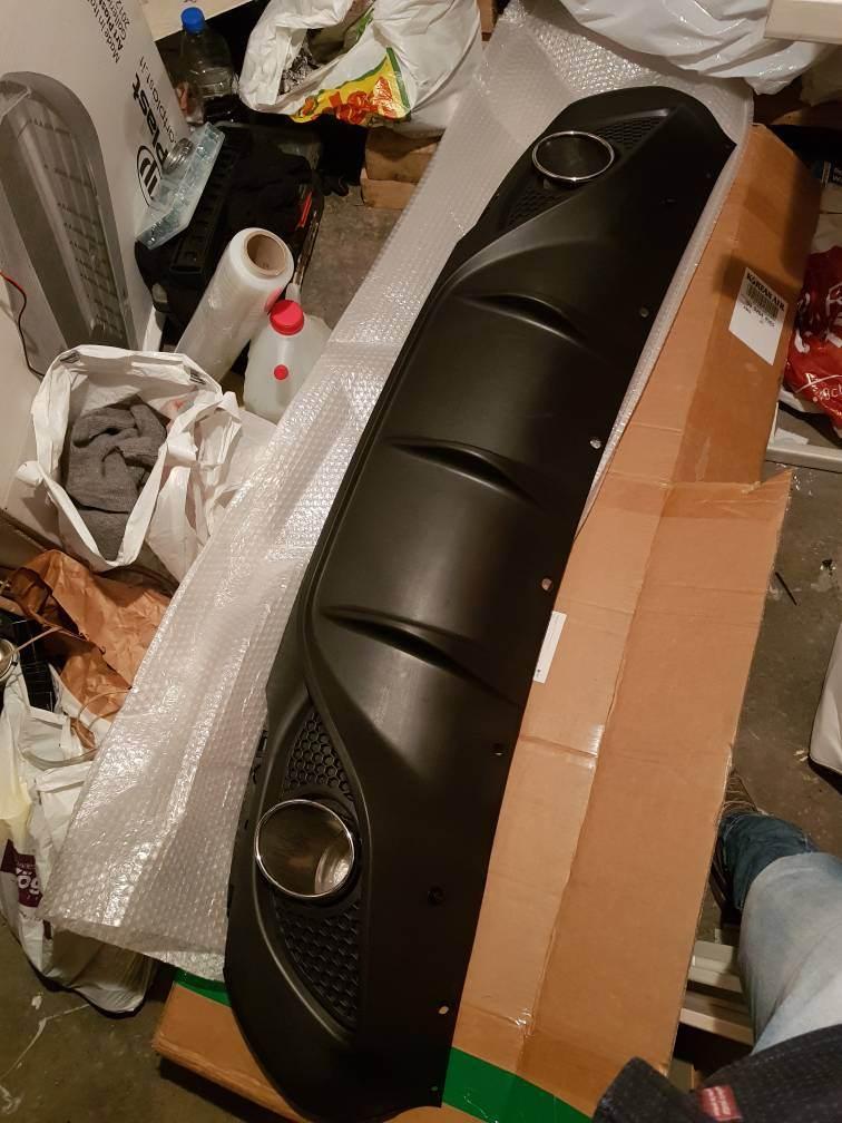 foto estrattore posteriore after market per Giulia Super - 1