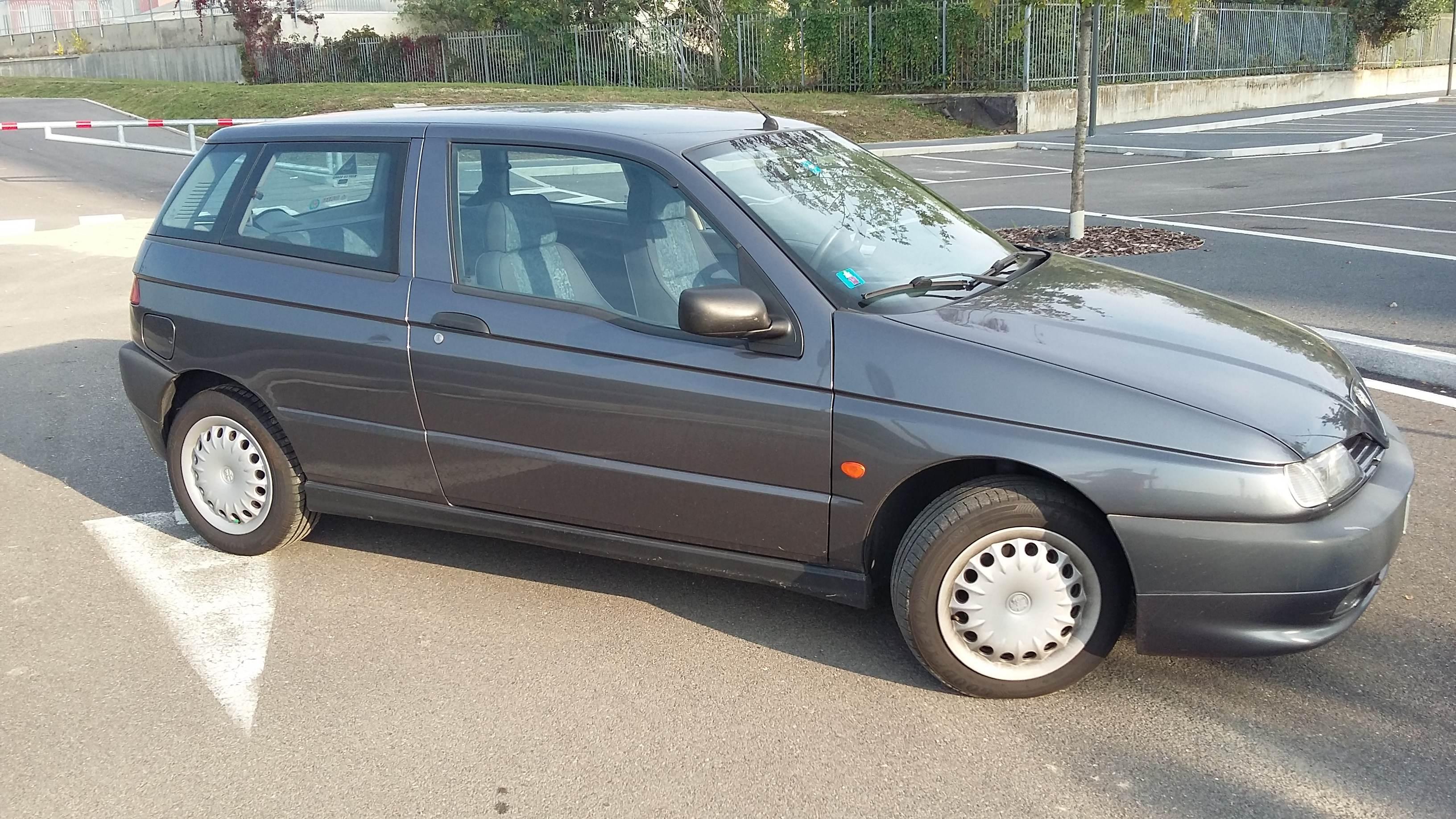 foto Alfa 145-Twin Spark 1.4-L-Grigio Artico-1998-Brescia - 3