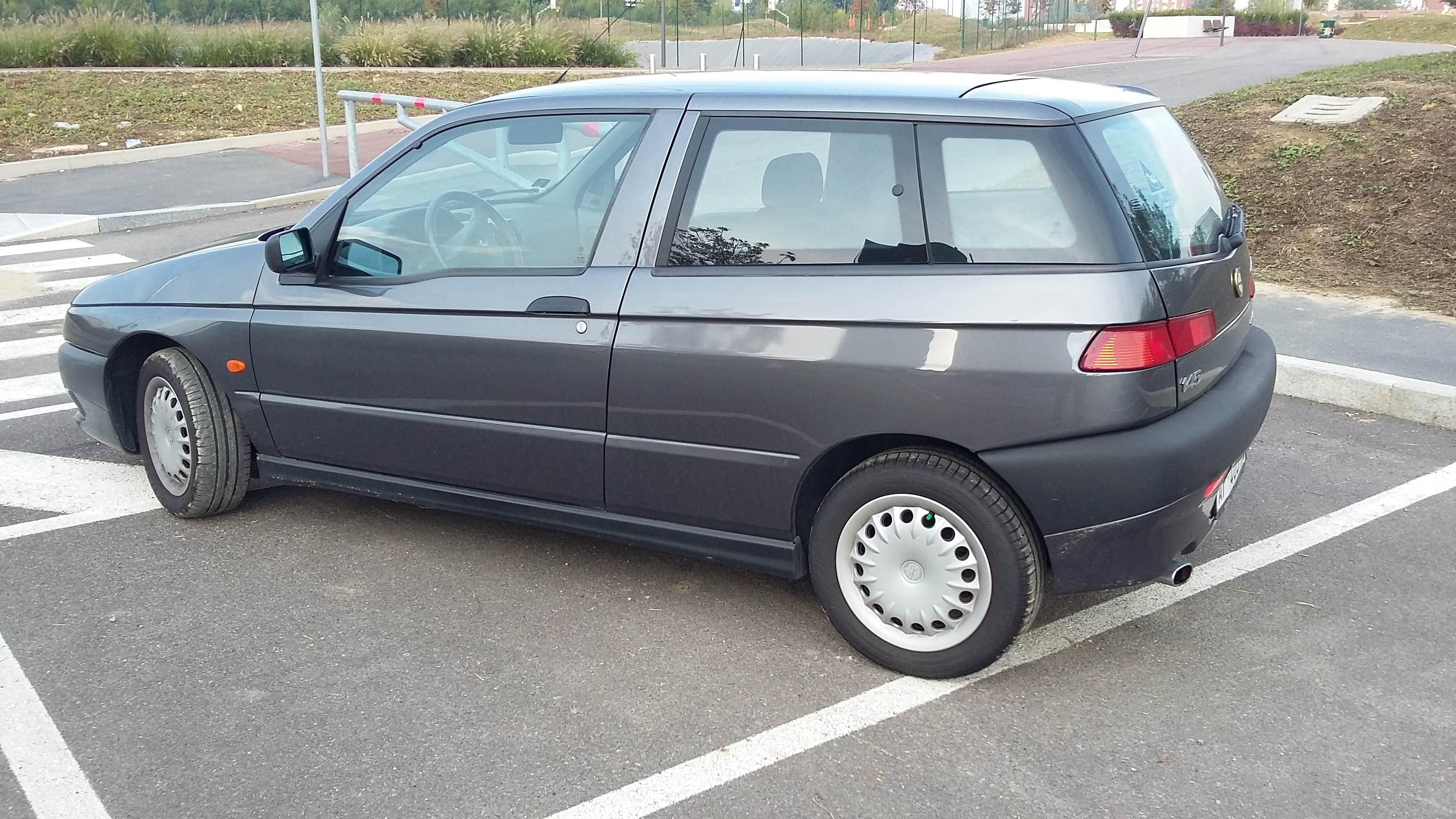 foto Alfa 145-Twin Spark 1.4-L-Grigio Artico-1998-Brescia - 4
