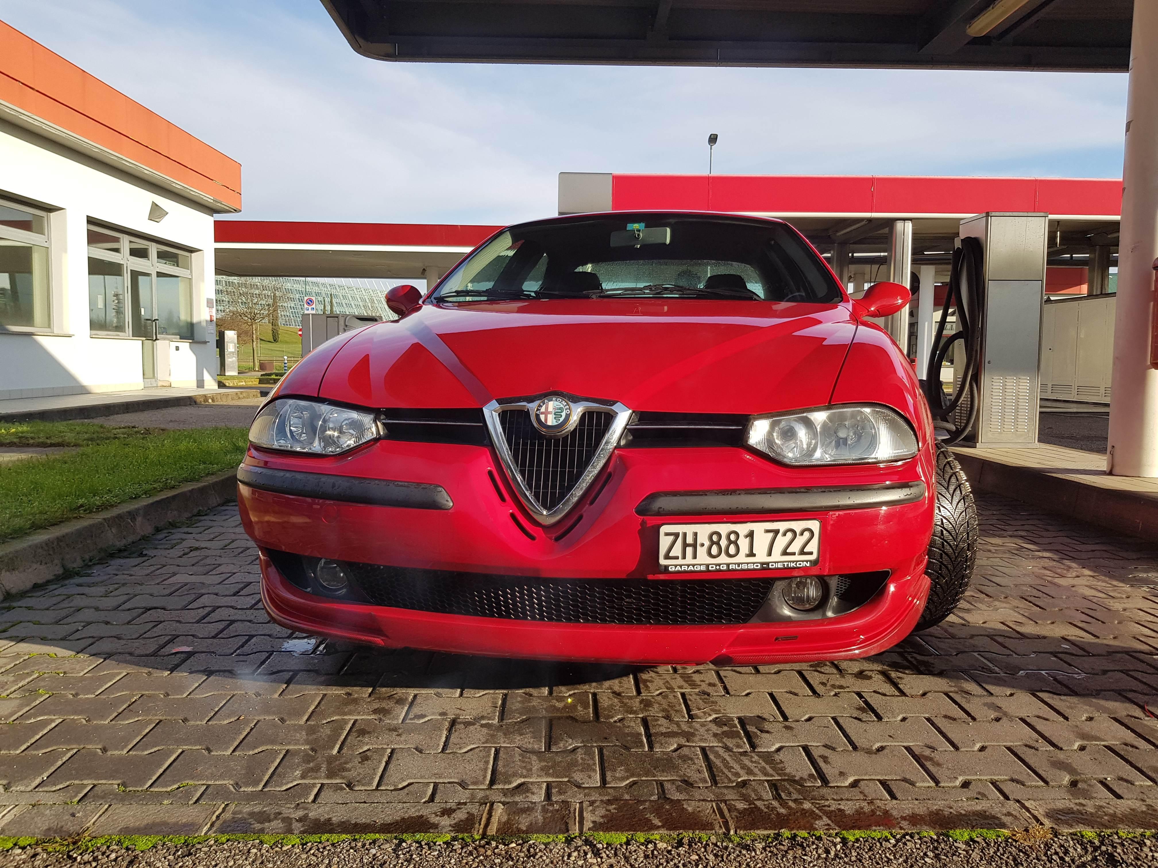 foto Alfa Romeo 156 - 2.0 TS 16v - Selespeed - Rossa - 2000 - VE - 1
