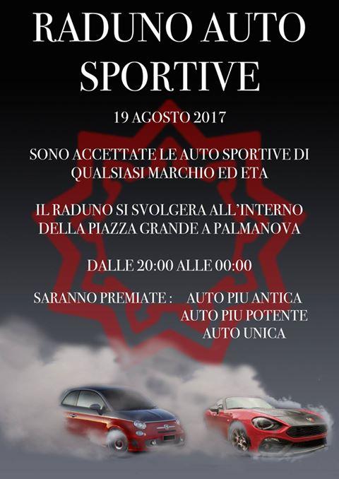 foto 19 Agosto 2017: Ritrovo Auto Sportive a Palmanova (UD) - 2