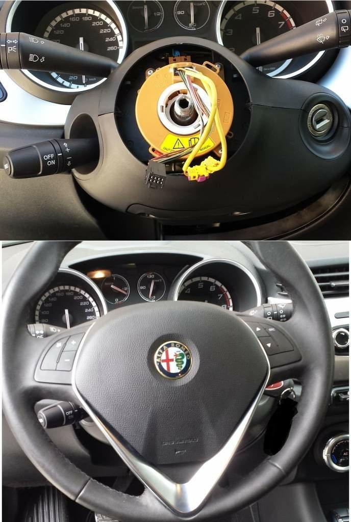 foto Guida: Come Montare Comandi al volante Alfa Giulietta - 1