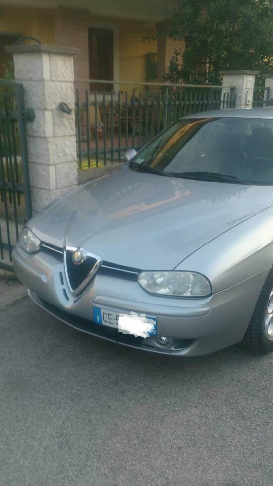foto Alfa Romeo 156 - 1.9 jtd 8v - Distinctive - 2003 - Grigio Sterling metallizzato - 1