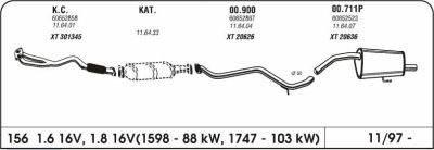 foto Rottura catalizzatore Alfa 156 1.8 ts del 2003 - 2
