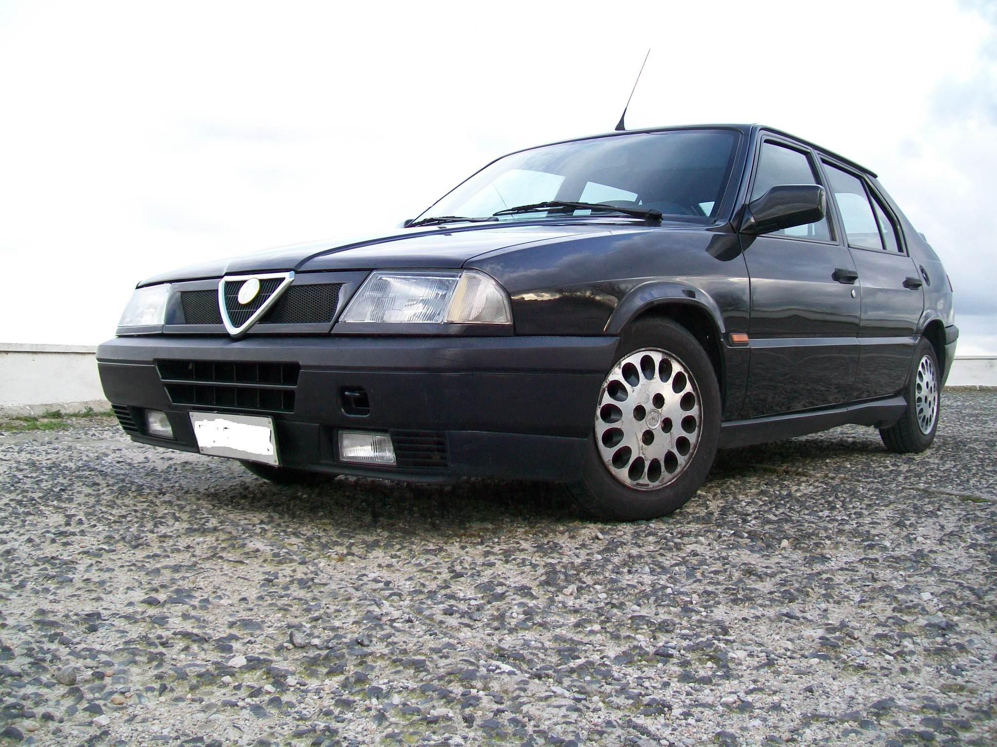 foto Alfa 33 Imola 1993 ASI SS - 1