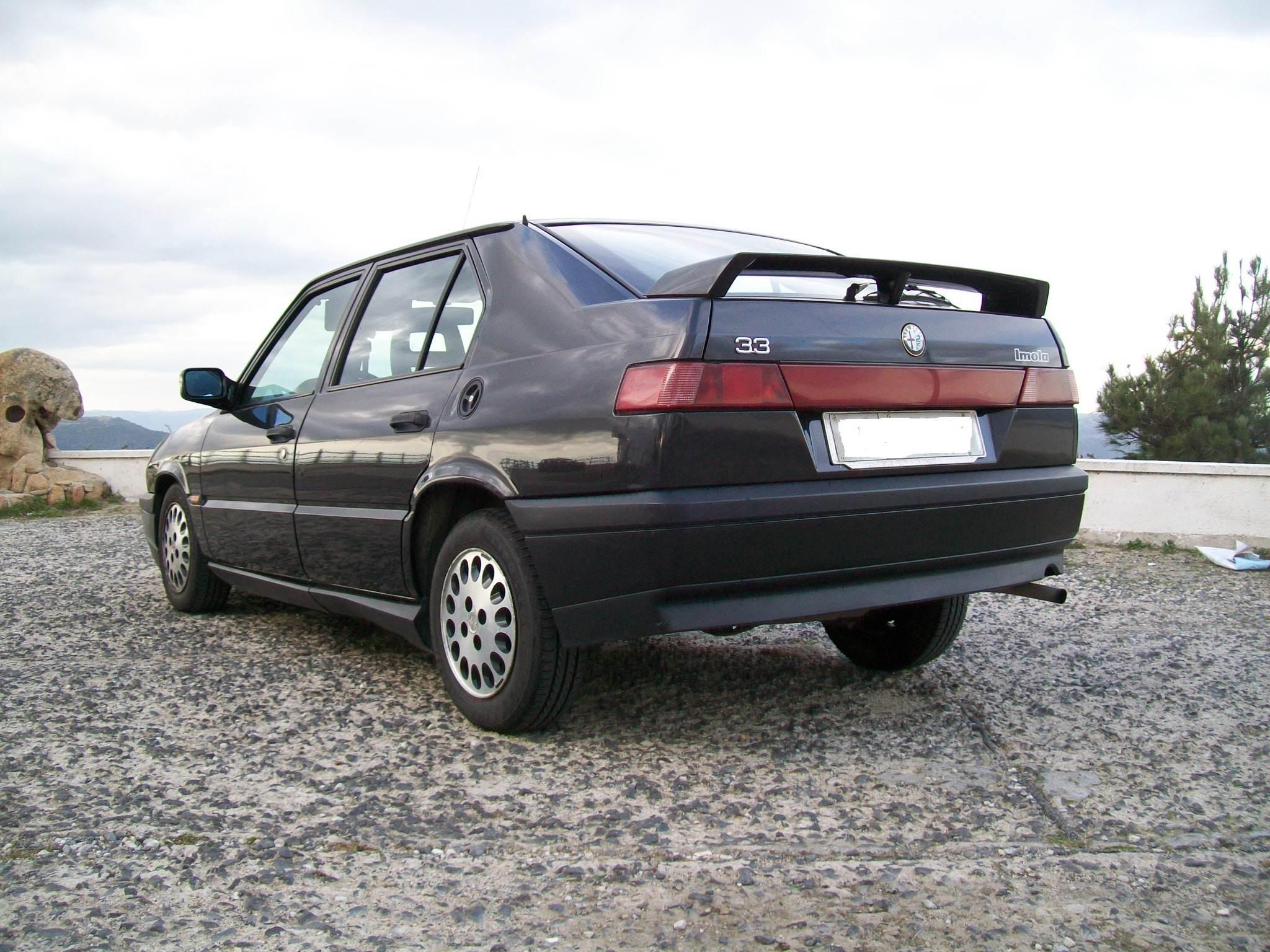 foto Alfa 33 Imola 1993 ASI SS - 4