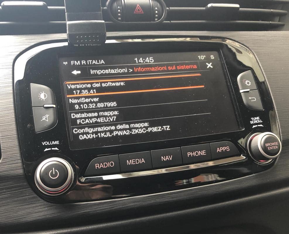 New Firmware for u-connect 17 35 41 - Alfa Romeo Forum