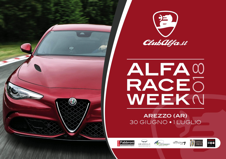foto ALFA RACE WEEK   RADUNO ALFA ROMEO CLUB ALFA - 30/06/18 - 01/07/2018 - AREZZO - TOSCANA - 1