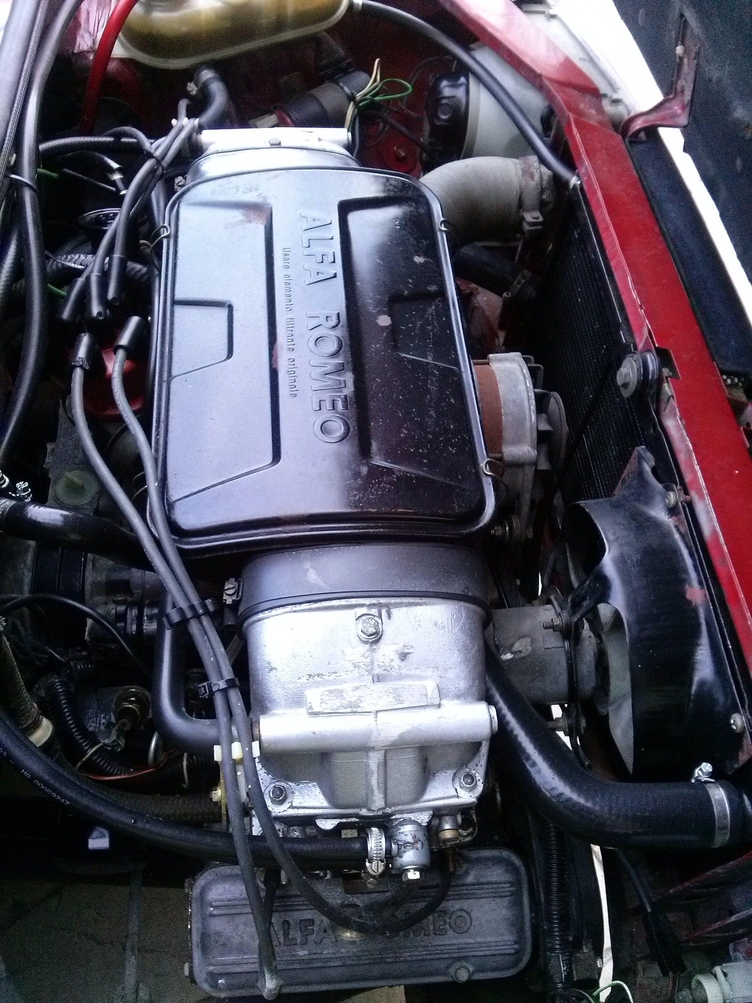 foto Alfa 33 1.7 QV Carb - Rosso Alfa - 1987 - PE - 1
