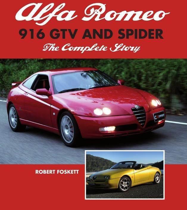foto Presenza (nulla) della 916 sui libri Alfa Romeo - 1