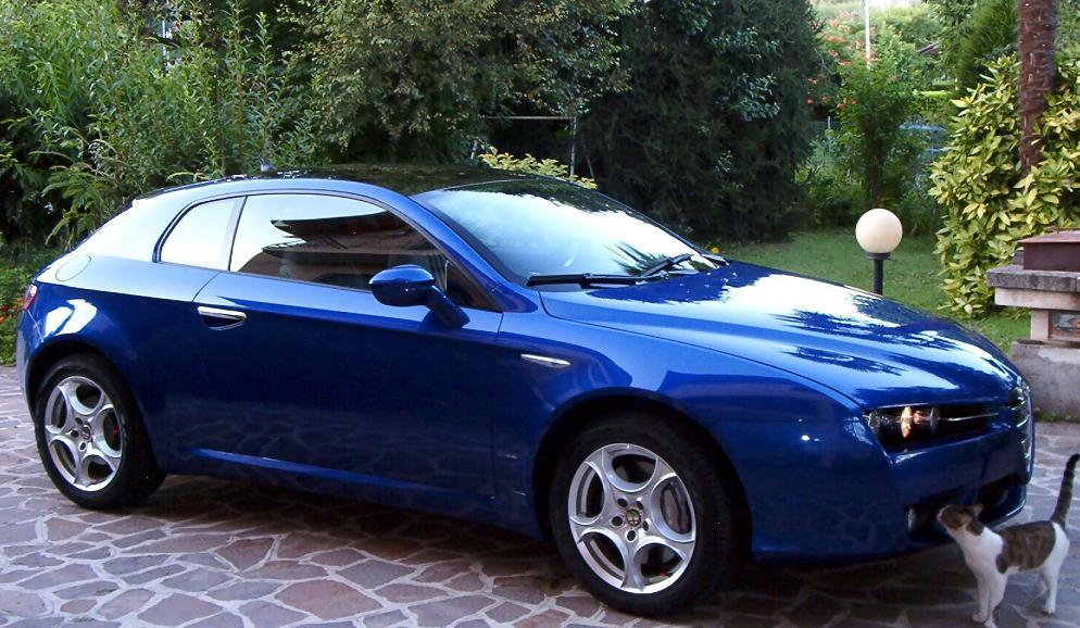 foto Alfa Romeo Brera - 3.2 V6 Q4 260cv - Blu Misano - 2007 - MB - 1