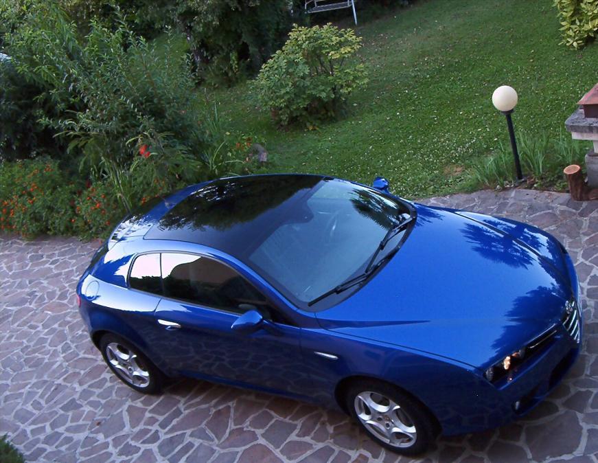 foto Alfa Romeo Brera - 3.2 V6 Q4 260cv - Blu Misano - 2007 - MB - 2