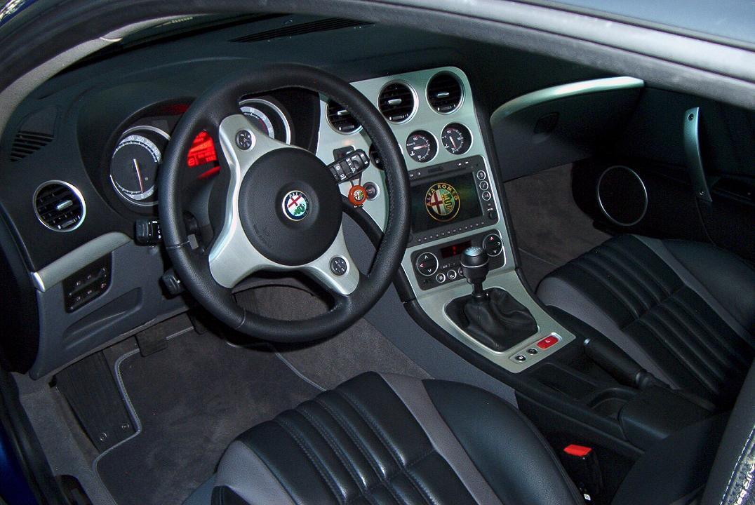 foto Alfa Romeo Brera - 3.2 V6 Q4 260cv - Blu Misano - 2007 - MB - 3