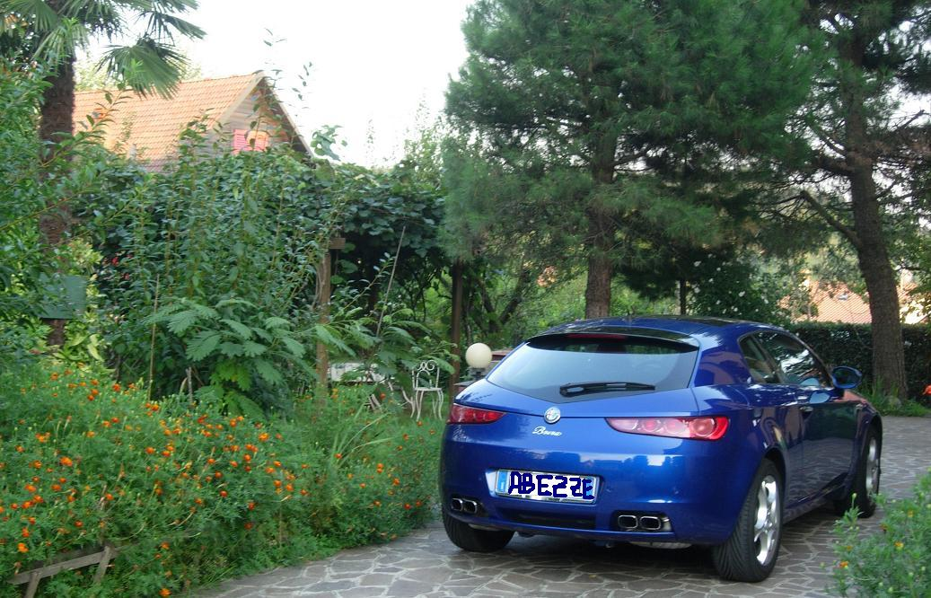 foto Alfa Romeo Brera - 3.2 V6 Q4 260cv - Blu Misano - 2007 - MB - 6