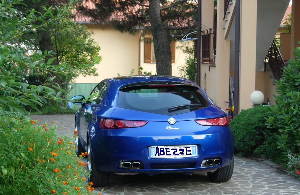 foto Alfa Romeo Brera - 3.2 V6 Q4 260cv - Blu Misano - 2007 - MB - 7
