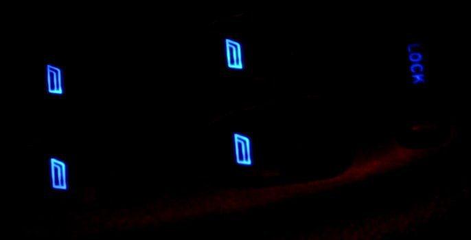 foto Guida sostituzione led (colore) pulsanti alzacristalli - Alfa 156 - 2