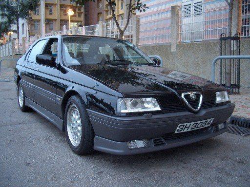 foto Alfa 164 - nera - 1994 - 8