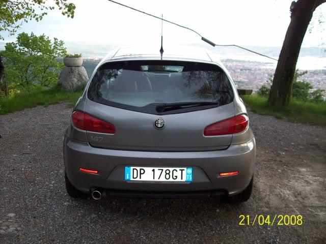foto Alfa 147 - 1.6 TS 120cv - grigia - 2008 - TS - 2