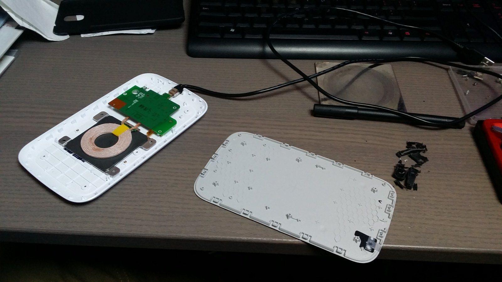 foto [GUIDA] Wireless charging Ricarica Wireless nel porta oggetti - 3