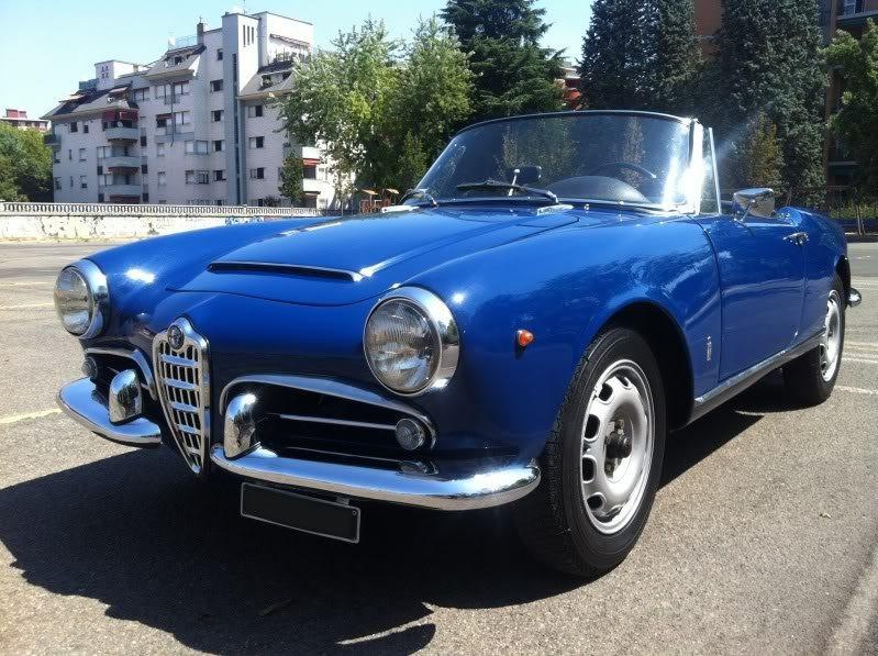 foto Alfa Romeo Giulia Spider - 1600 Veloce - Blu Fiorenza - 1964 - MI - 10