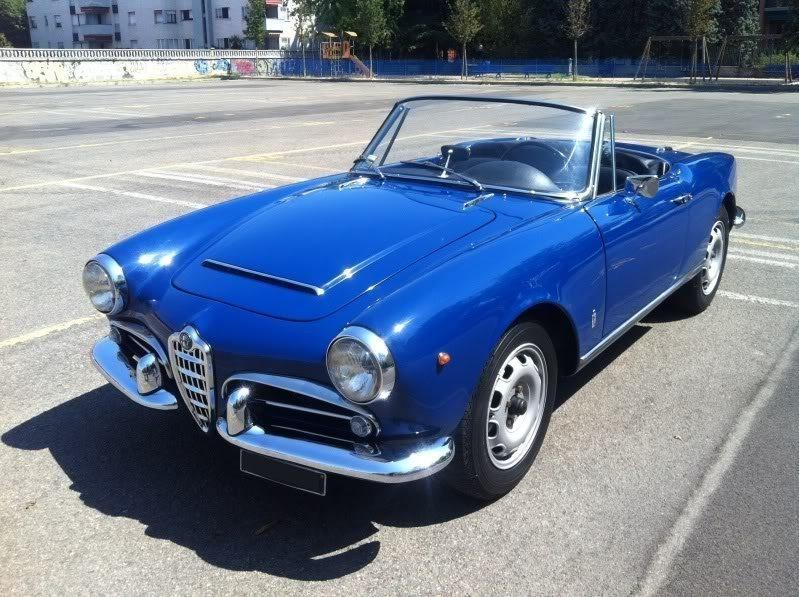 foto Alfa Romeo Giulia Spider - 1600 Veloce - Blu Fiorenza - 1964 - MI - 1