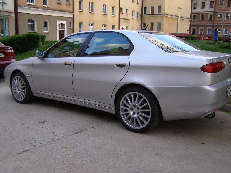 foto Alfa 166 - 3.0 V6 - Grigio Sterling - 2000 - Polonia Glogow - 3