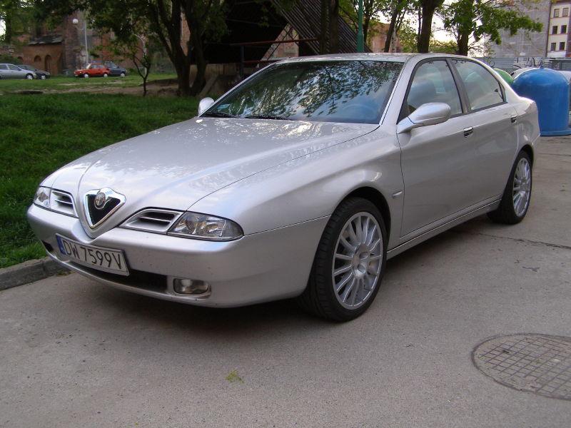 foto Alfa 166 - 3.0 V6 - Grigio Sterling - 2000 - Polonia Glogow - 1
