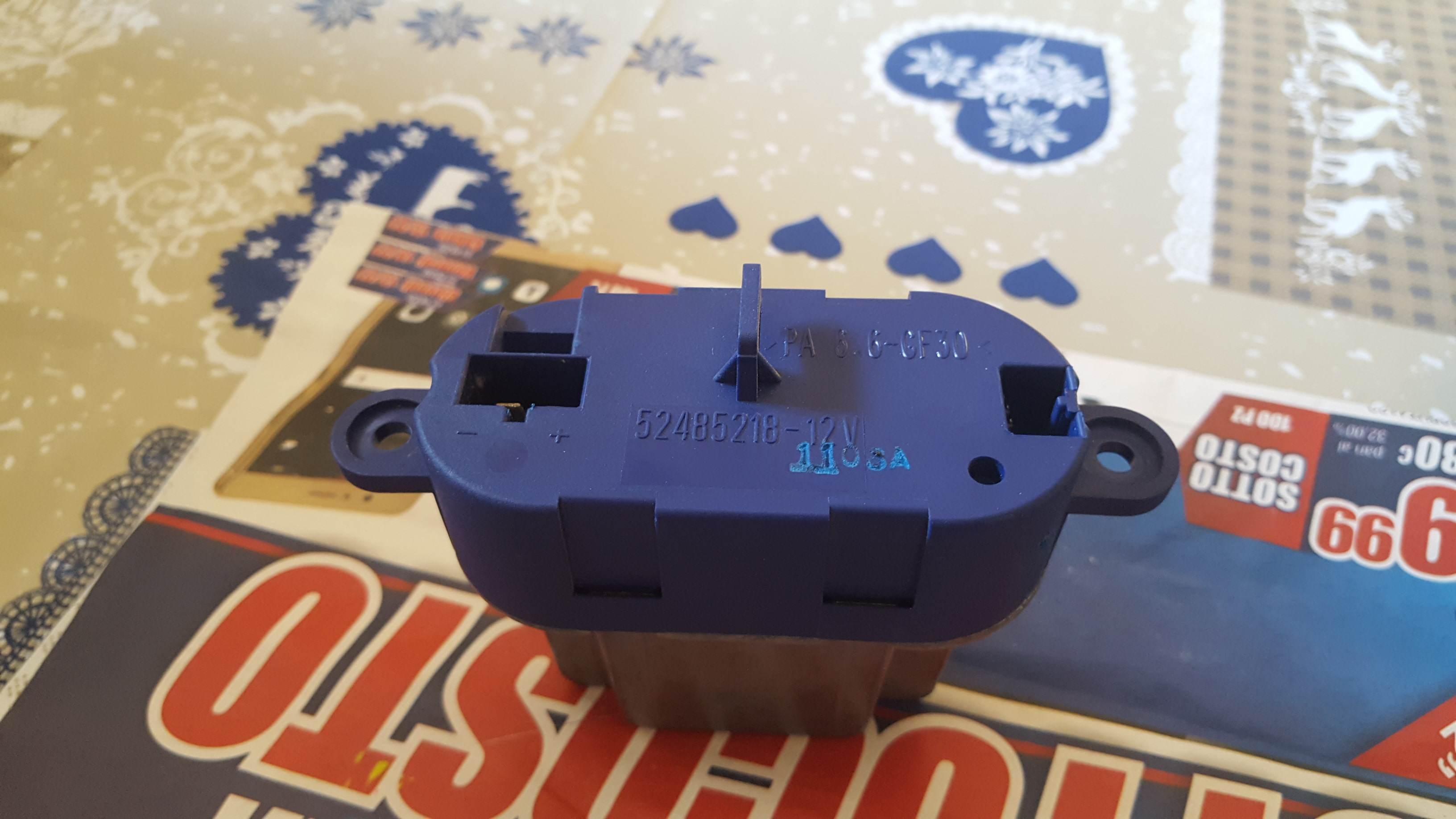 foto Resistenza ventola aria condizionata Brera 2.4 210cv!!! - 1