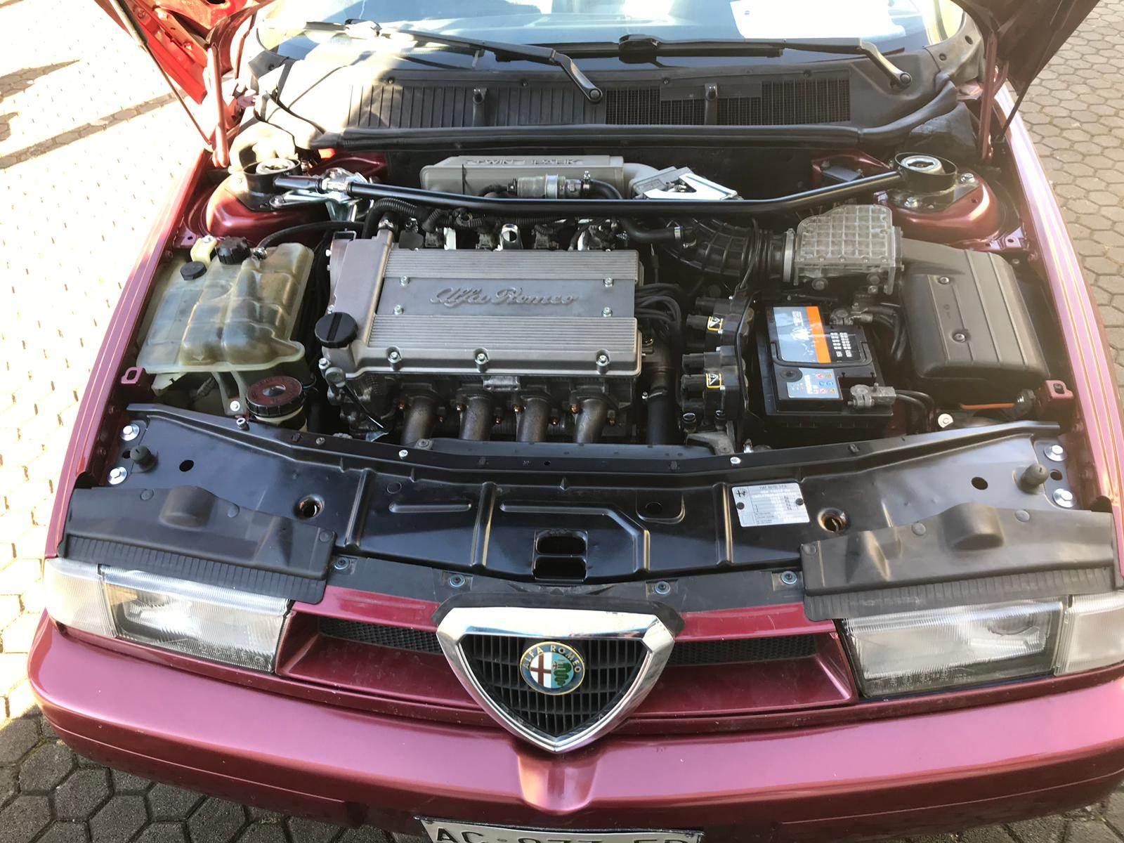 foto Alfa Romeo 155 T.S.  1995 rosso proteo  Livigno (Sondrio) - 1