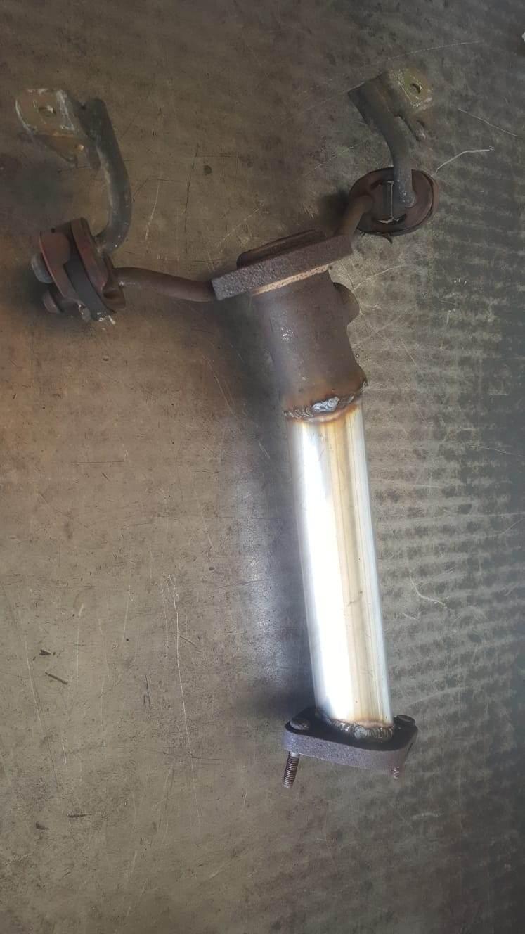 foto Catalizzatore SPORTIVO 200 celle ALFA 147 156 GT TS - 11