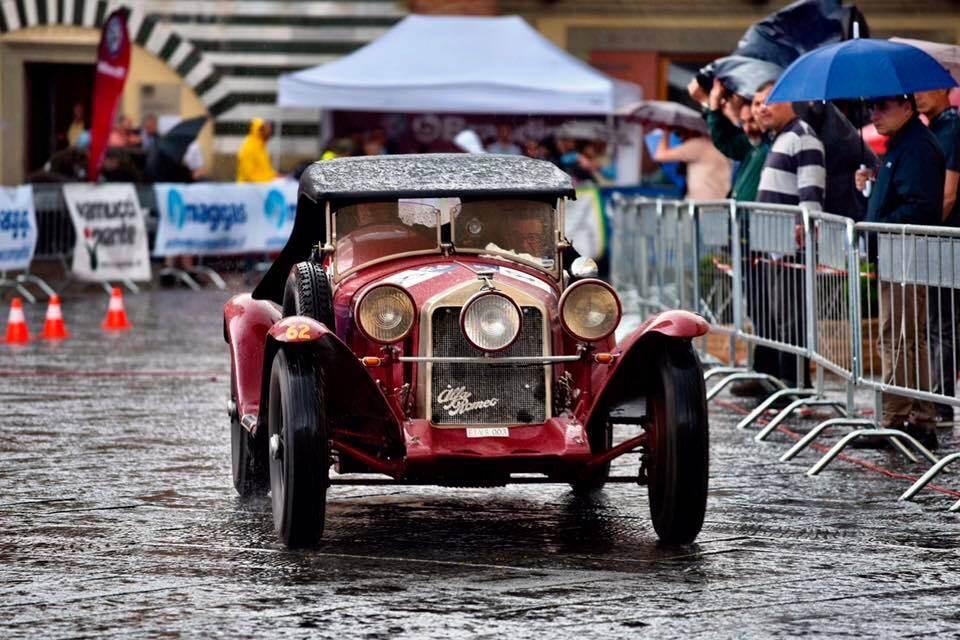 foto Raduno Alfa Romeo & Ferrari a Pistoia - 4