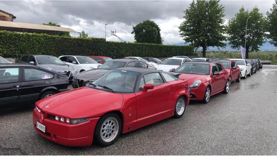 foto Raduno Alfa Romeo & Ferrari a Pistoia - 11
