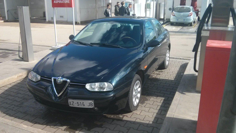 foto Alfa Romeo 156 - 1.6 ts - pack lusso - blu cosmo - 1998 - BAT - 2