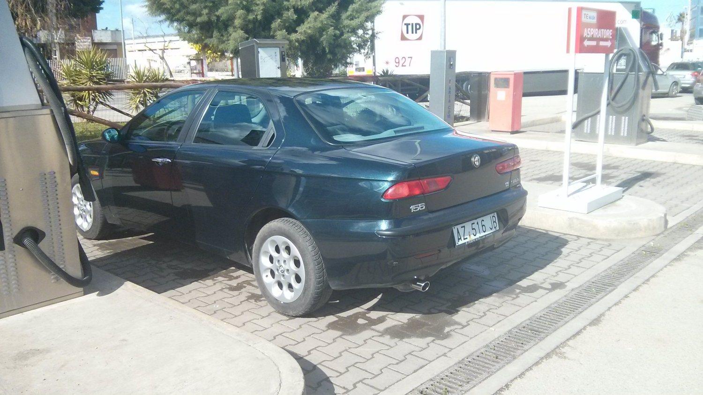 foto Alfa Romeo 156 - 1.6 ts - pack lusso - blu cosmo - 1998 - BAT - 4